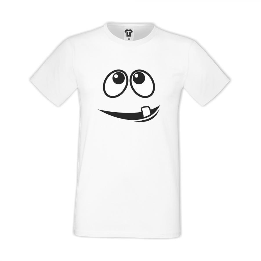 Ανδρική μπλούζα - άσπρο χρώμα