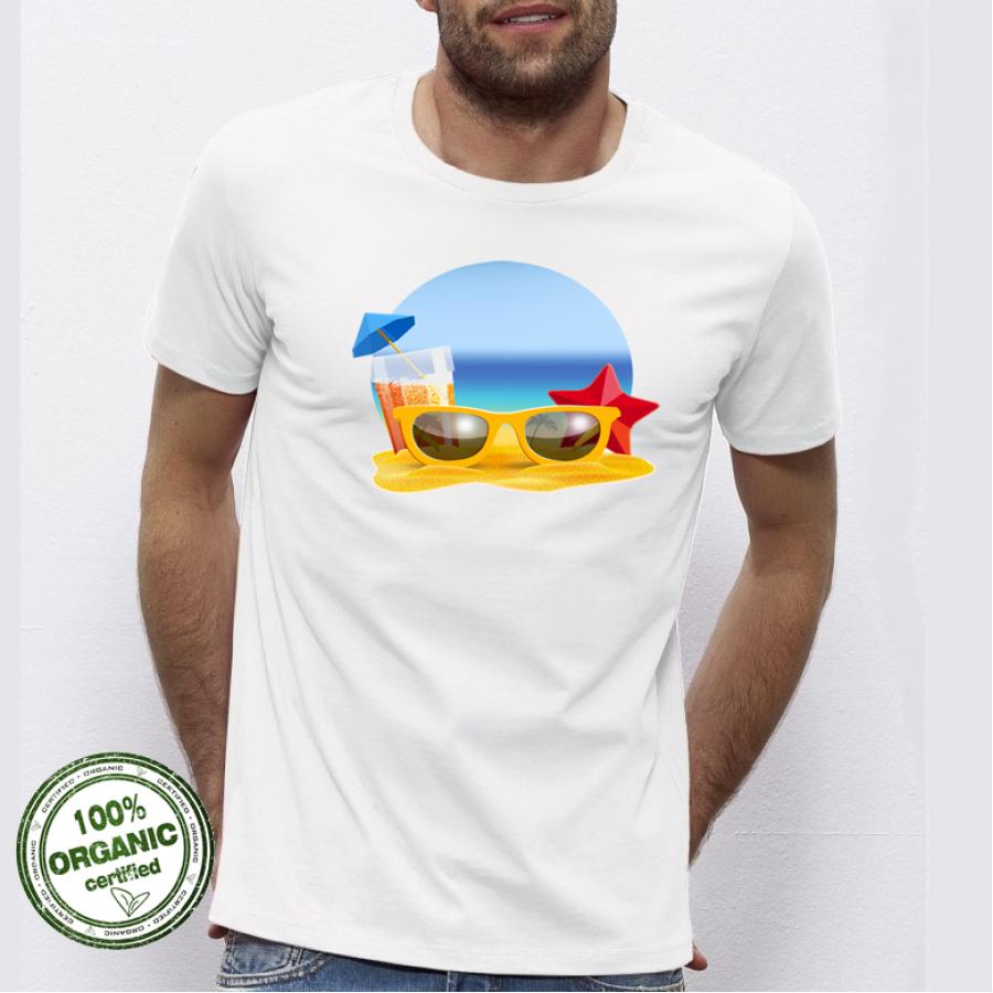 Ανδρική μπλούζα Beach