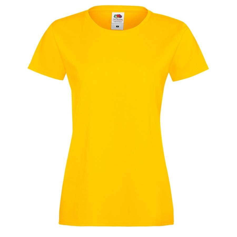 Γυναικεία μπλούζα - κίτρινο χρώμα