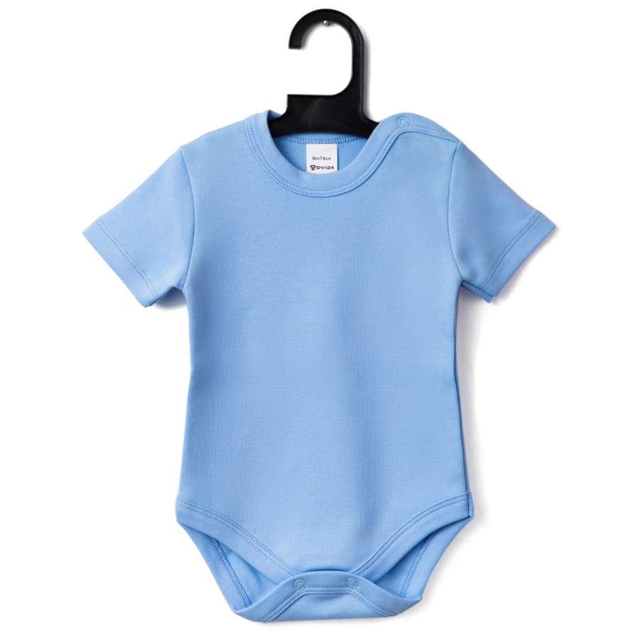 Μωρουδιακό κορμάκι με μακρύ μανίκι - μπλε