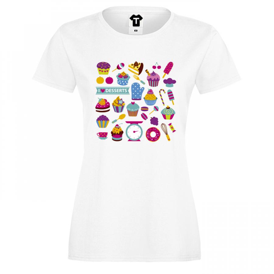 Γυναικεία μπλούζα Deserts