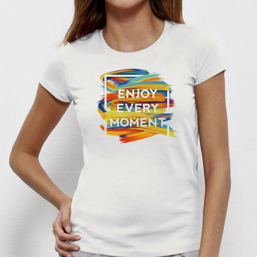 Γυναικεία μπλούζα Enjoy Every Moment