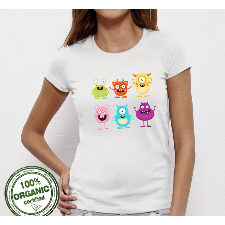 Γυναικεία μπλούζα Monsters