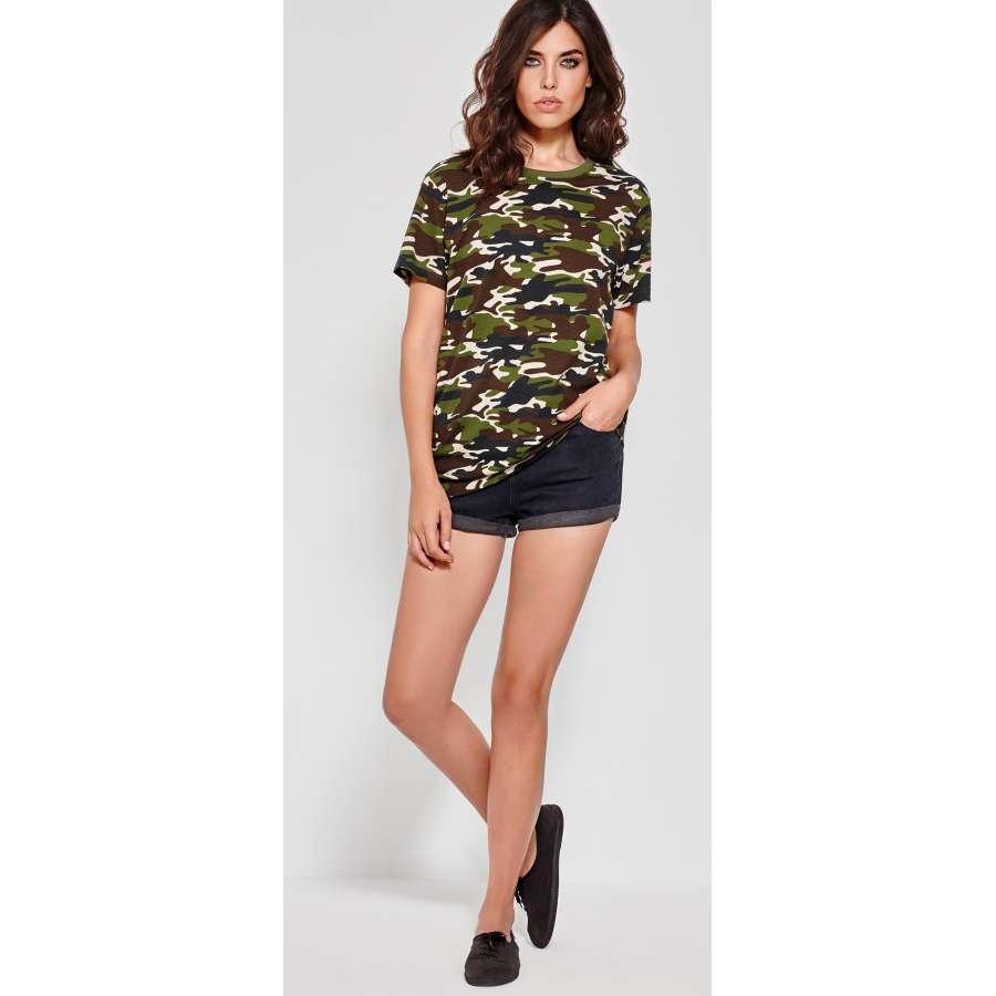 Γυναικεία μπλούζα καμουφλάζ