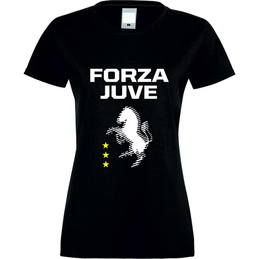 ΓΥΝΑΙΚΕΙΑ ΜΠΛΟΥΖΑ Forza Juventus μαύρο