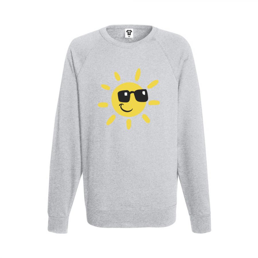Ανδρική μπλούζα γκρι Sun