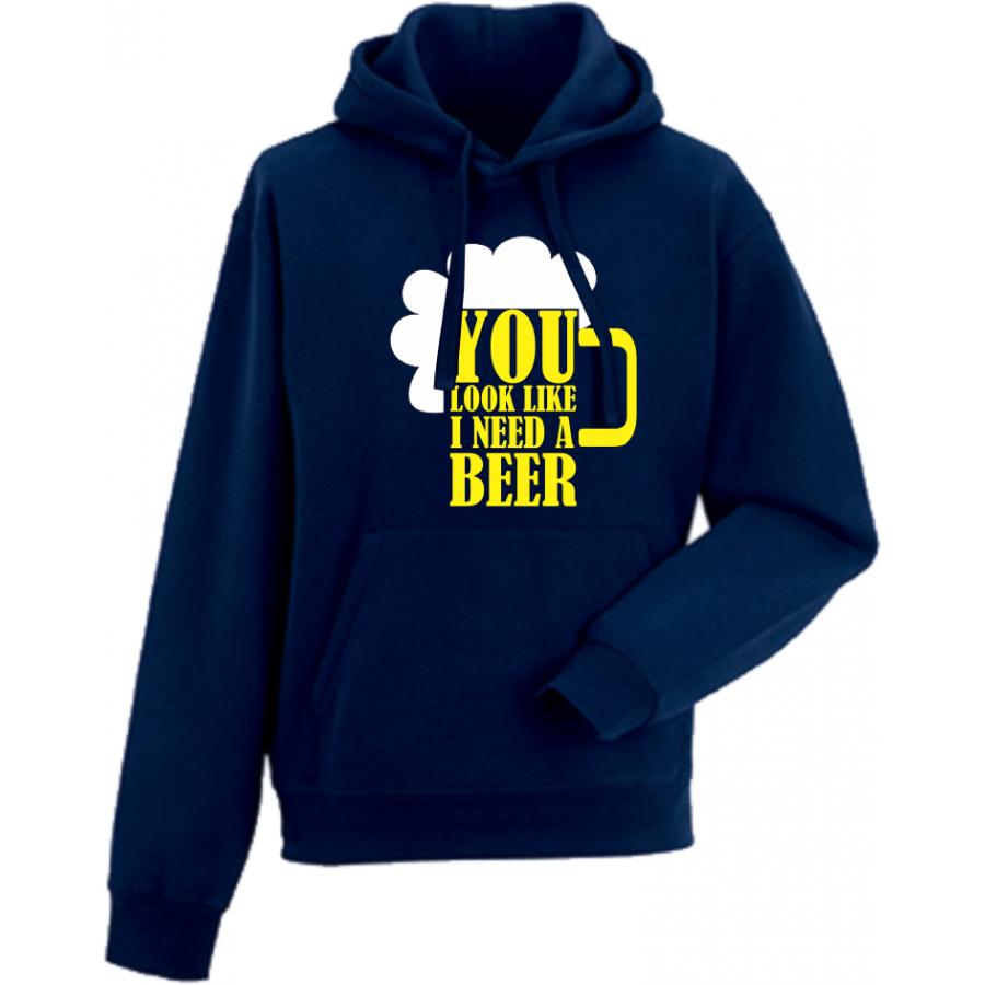 Ανδρικά φούτερ You Look Like I Need a Beer