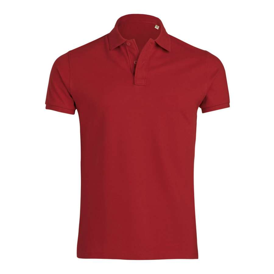 Ανδρική μπλούζα πόλο από 100% οργανικό βαμβάκι